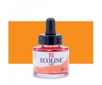 Akvarelltint Talens Ecoline, 30 ml - 237 tume oranž