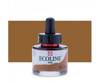 Akvarelltint Talens Ecoline, 30 ml - 416 seepia