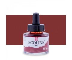 Akvarelltint Talens Ecoline, 30 ml - 441 mahagon