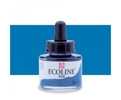 Akvarelltint Talens Ecoline, 30 ml - 508 preisi sinine