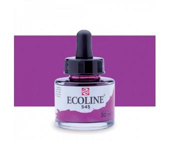 Akvarelltint Talens Ecoline, 30 ml - 545 punane violett