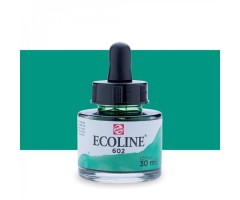 Akvarelltint Talens Ecoline, 30 ml - 602 tumeroheline