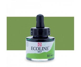 Akvarelltint Talens Ecoline, 30 ml - 657 pronksroheline