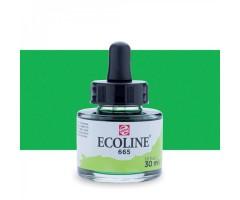 Akvarelltint Talens Ecoline, 30 ml - 665 kevadroheline