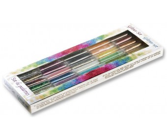Glitterpurude komplekt Folia - 30 värvi