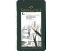 Grafiitpliiatsite komplekt Faber-Castell 9000 Design - 5H-5B