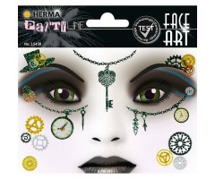 Näokleebis Herma Face Art Decor -  steampunk