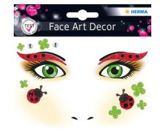 Näokleebis Herma Face Art Decor -  lepatriinu
