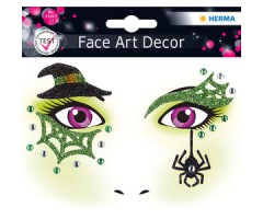 Näokleebis Herma Face Art Decor -  nõid