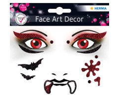 Näokleebis Herma Face Art Decor -  vampiir