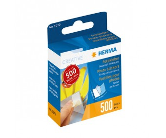 Kahepoolsed kleepruudud Herma (fotokleebised) - 500 tk