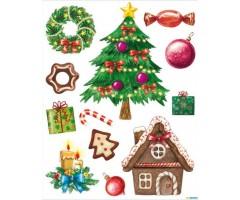 Aknakleebised - jõulud - Herma