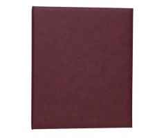Rõngasklambriga album Herma 26.5x31.5cm - bordoo punane