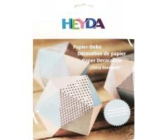 Paberdekoratsioon Paberkristallid, sinine, 6 tk - Heyda