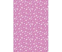 Mustriga kartong Heyda A4, 200g/m² - valged õied roosal