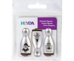 Mini kummitemplid Heyda, 3 tk - jõulud