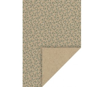 Mustriga kartong Heyda A4, 200g/m² - puuvõõrik, hõbedased täpid