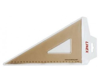 Kolmnurk-joonlaud Linex Coll-625 - 60°/30°, 23,5cm