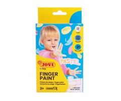 Näpuvärvid pastelltoonides - 6 x 35 ml - Jovi