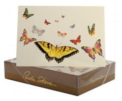 Õnnitluskaart + ümbrik Paula Skene, 127x178mm - liblikad