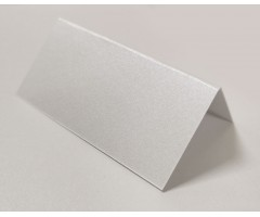 Kohakaart, 4x8cm, curious metallic Ice Silver, 20tk