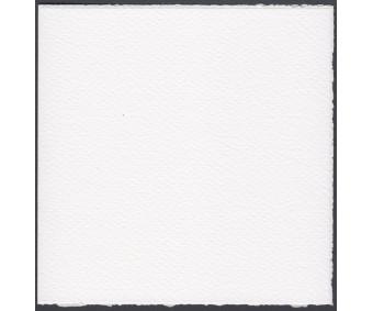 Kaarditoorik Rossi Medioevalis (kahepoolne) 120x120mm, 10 tk - helevalge
