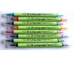 Kalligraafiamarker ZIG Calligraphy II Pigment Ink 2.0/3.5mm (värvivalik)