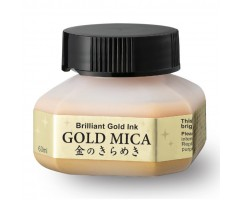 Jaapani tint Zig Kuretake Gold Mica 60ml - kuldne