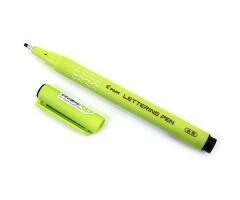 Kalligraafiline tindipliiats Pilot Lettering Pen - 2.0mm, must