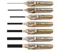 Kalligraafiasulgede komplekt Leonardt Tape - 7 tk