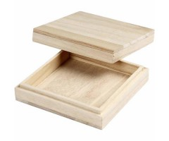 Karp puidust - 10x10x3cm