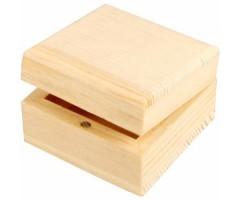 Karp puidust, magnetiga - 6x6x3.5cm