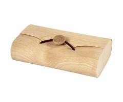 Karp puidust, nööbiga - 8x13x3.5cm