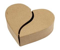 Karp papist, süda - 16.5x5cm