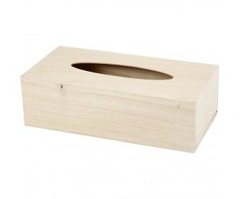 Karp puidust (salvrätikukarp) - 27x14x8cm