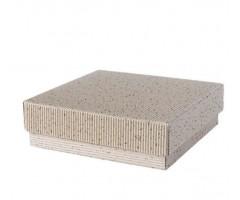 Karp lainepapist - 15x15x5cm -valge säbruline