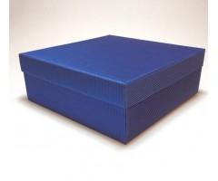 Karp lainepapist - 27x27x10cm - sinine