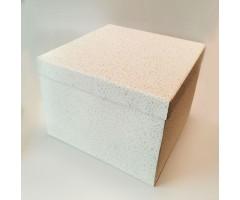 Karp lainepapist - 30x30x20cm - valge säbruga