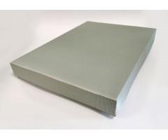 Karp lainepapist - 30x40x5cm - hõbe