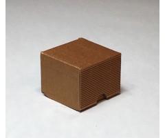 Karp lainepapist - 5x5x4cm - pronks