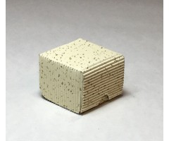 Karp lainepapist - 5x5x4cm - valge säbruline