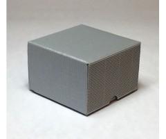 Karp lainepapist - 9x9x6cm - hõbe