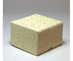 Karp lainepapist - 9x9x6cm - valge säbruline