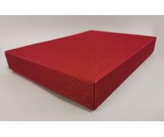 Karp lainepapist - 22x31x5cm (A4) - punane säbruga