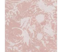 Karp Nepaali paberiga - 14x14x4 cm, taimeornament - beež