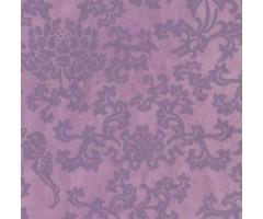 Karp Nepaali paberiga - 14x14x4 cm, ornament - lilla