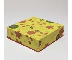 Karp Nepaali paberiga - 14x14x4 cm, lilled