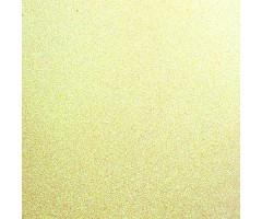 Glitter-kartong A4, 220g/m² - Cream