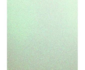 Glitter-kartong A4, 220g/m² - Pastel Green