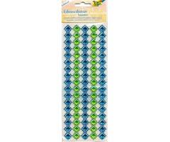 Iseliimuv kaunistusääris Folia - Inspiration, sinine-roheline
